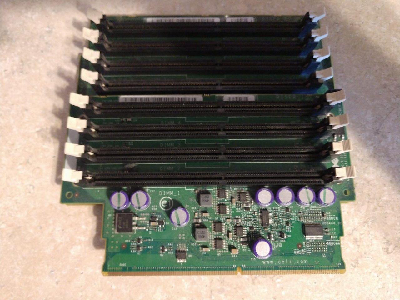 Dell OEM Precision 690 / T7400 Memory Riser Board 3,4 F817F